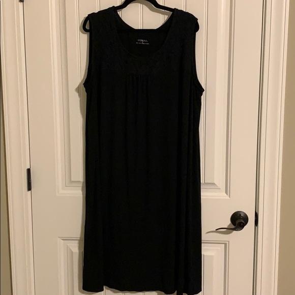 Merona Dresses & Skirts - 3X Little Black Dress Stretchy Soft